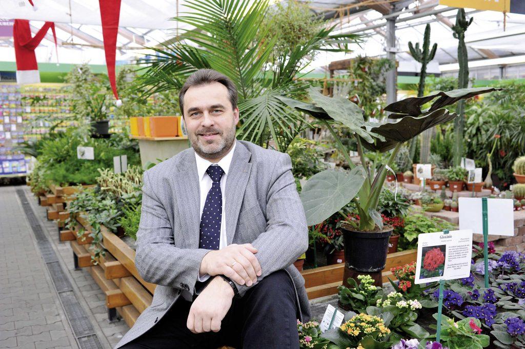 Andreas Richter (Inhaber Gartenfachmarkt Richter)
