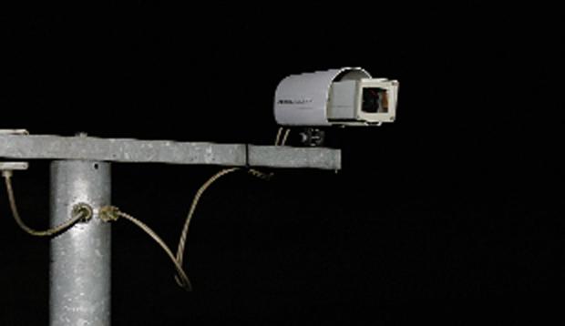 Sicherheitsbereich eines Stasi-Bunkers